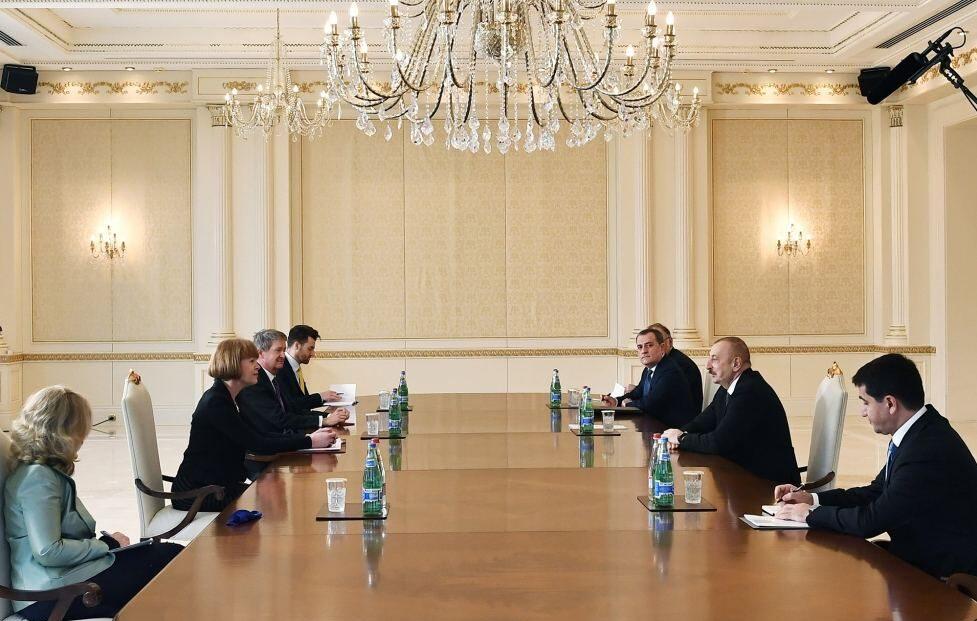 Азербайджанскую Республику посетила делегация из Великобритании
