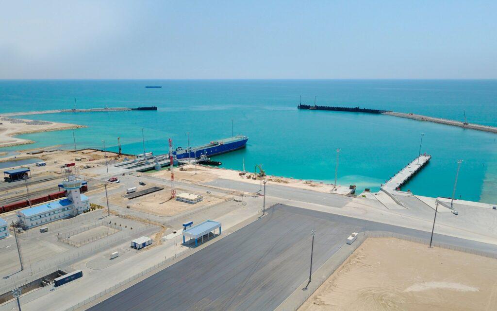 В казахстанском порту Курык построят терминал мощностью 1 млн тонн в год