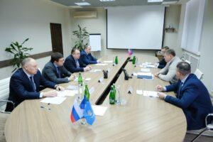 Губернатор Астраханской области и глава ОСК обсудили перспективы развития судостроения на Каспии