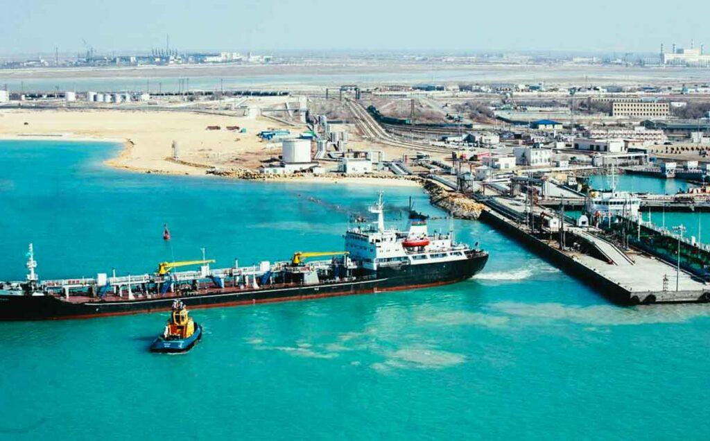 За 2020 год через казахстанские порты перевезено 5,4 млн тонн грузов