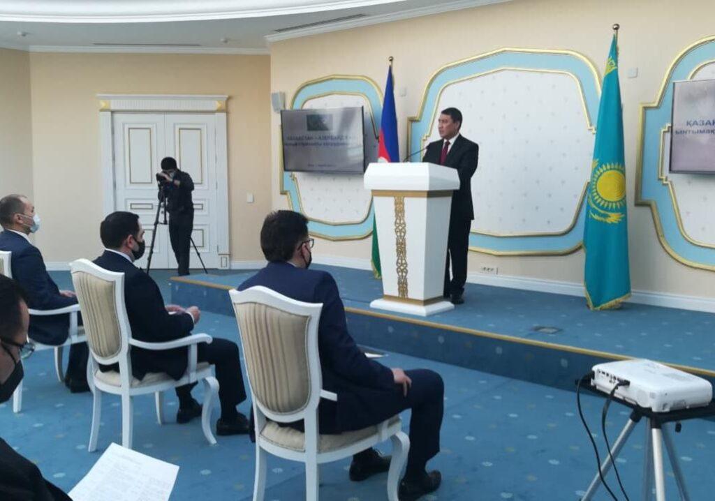 Состоялась бизнес-встреча «Казахстан-Азербайджан: новые горизонты сотрудничества»