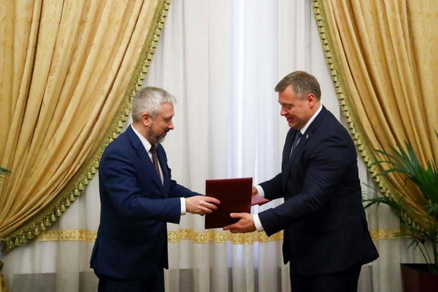 Встреча губернатора Игоря Бабушкина с Руководителем Россотрудничества Евгением Примаковым