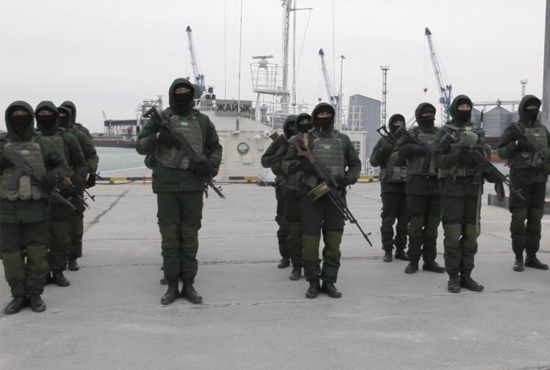 Страны Каспийского региона укрепляют военно-морскую безопасность