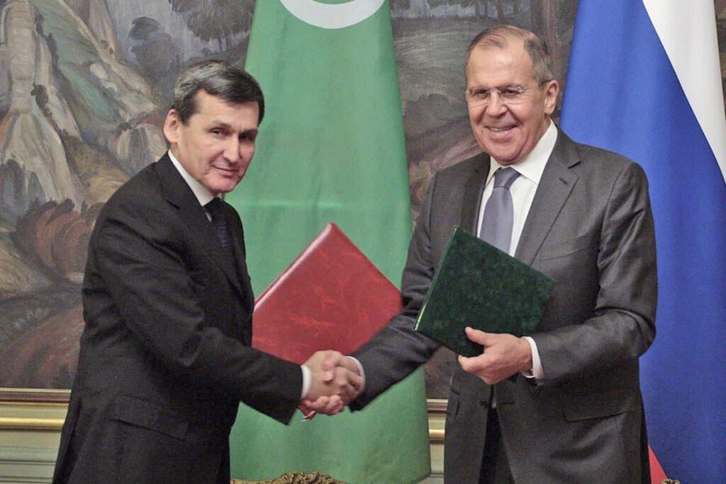 В Россию прибыла делегация Туркменистана во главе Рашидом Мередовым