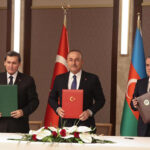 В Анкаре состоялась трехсторонняя встреча МИД Туркменистана, Азербайджана и Турции