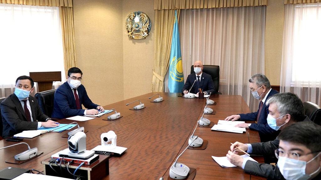 Онлайн встреча «Казахстан – хаб на Новом Шелковом пути: возможности сотрудничества в транспорте и логистике»