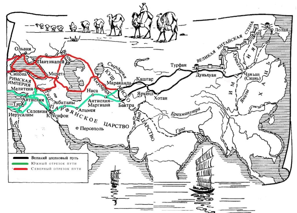 Астраханский край в системе Великого Шёлкового пути