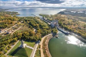 Волго-Донской канал открыл 70-ю навигацию между Каспийским и Черным морями