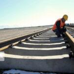 На севере Ирана продолжается строительство железной дороги к порту в городе Энзели