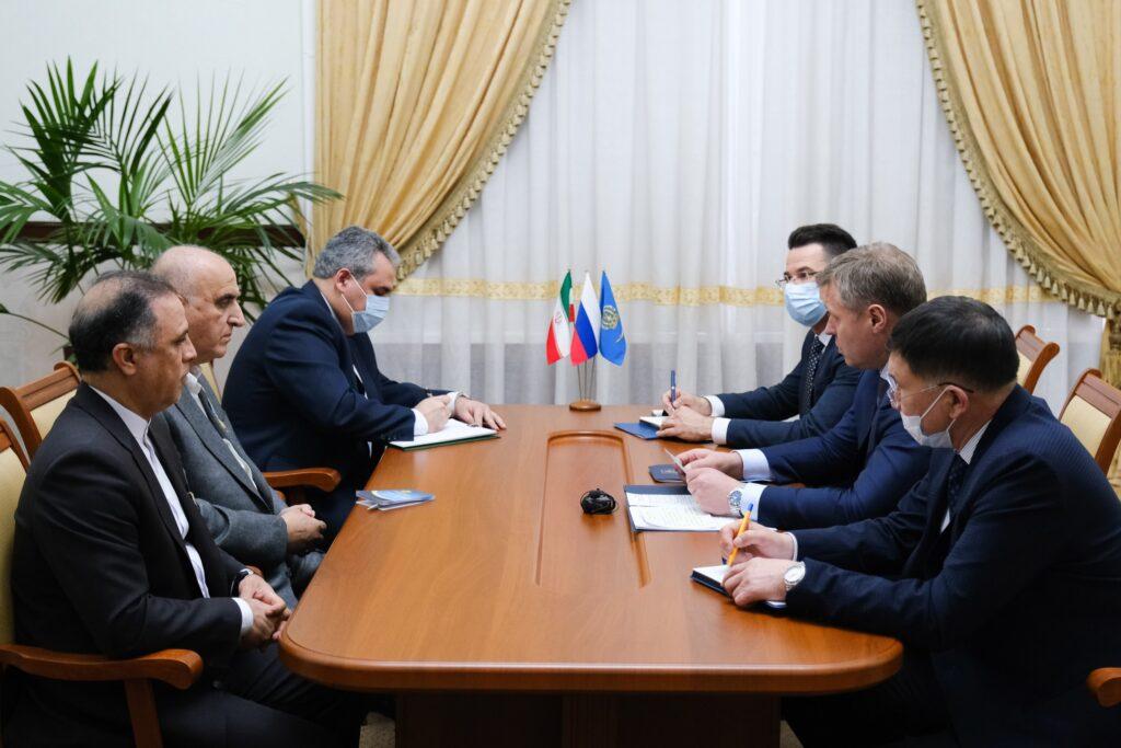 Астраханскую область посетил глава Ирано — Российской торговой палаты Хади Тизхуш Табан