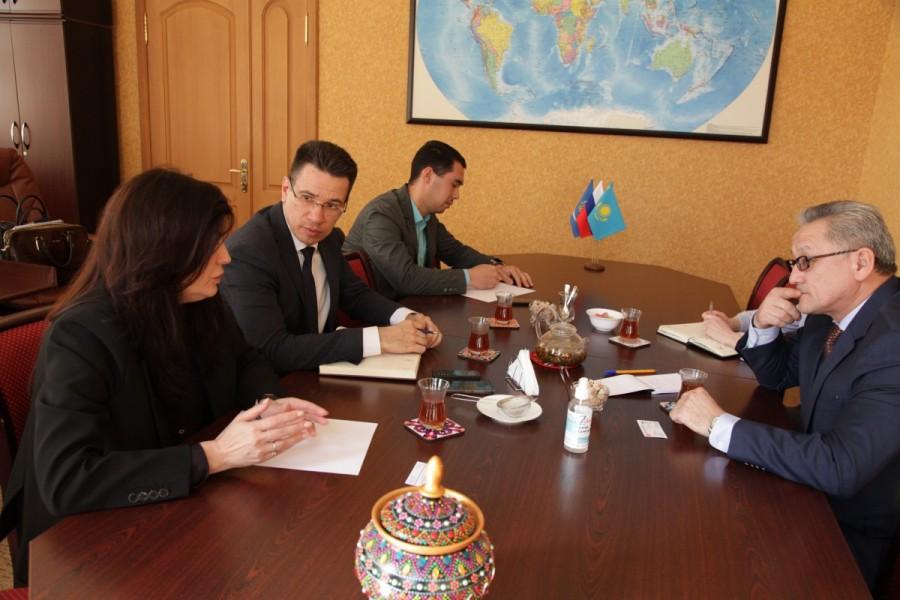 В Астрахани обсуждены перспективы сотрудничества с Казахстаном в сфере судостроения