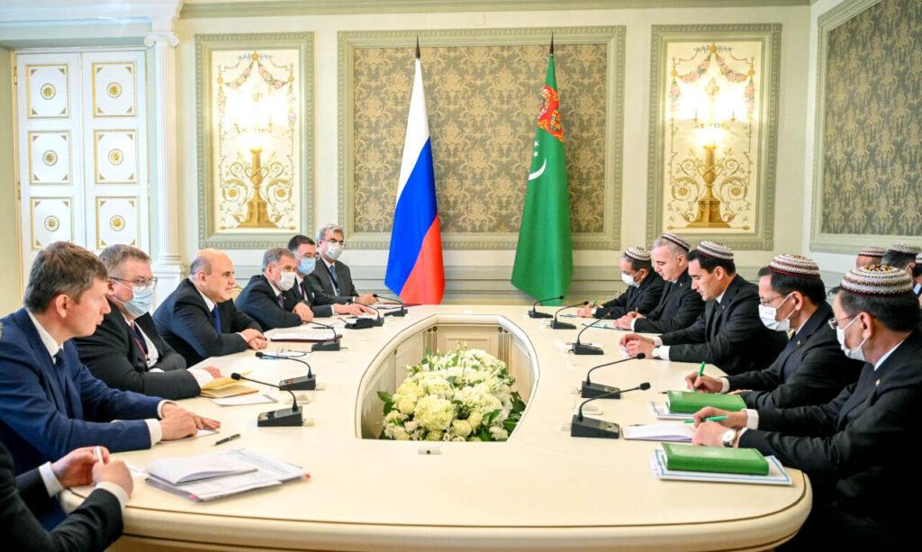 Делегация Туркменистана приняла участие в Евразийском Межправительственном Совете