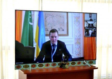 Туркменистан и Украина провели двусторонние консультации на министерском уровне