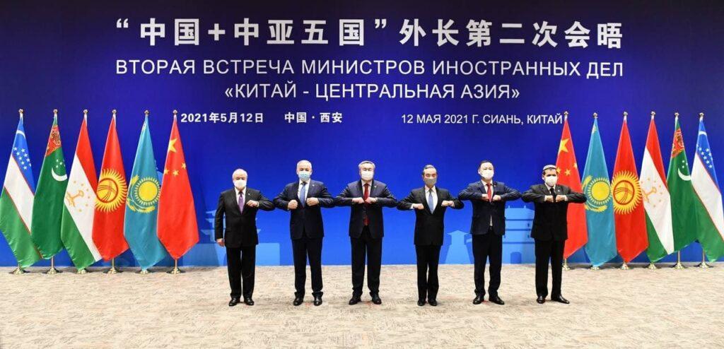 Прикаспийские страны приняли участие в заседании формата «Центральная Азия – Китай»