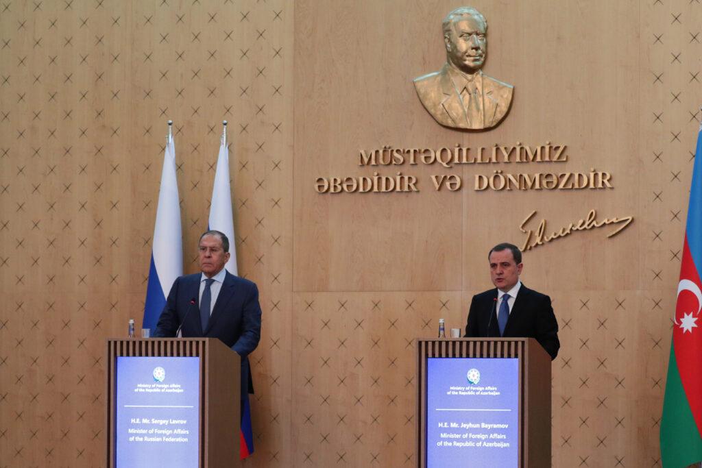 О визите Министра иностранных дел РФ С.В.Лаврова в Азербайджанскую Республику