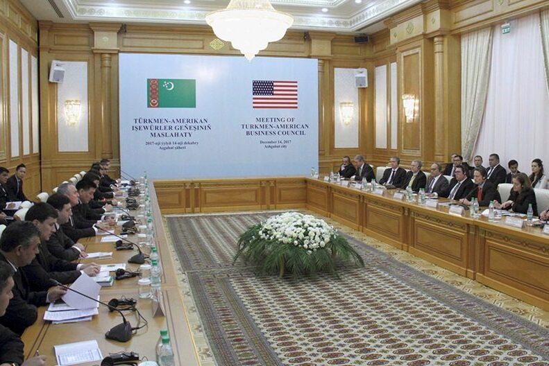 Состоялось очередное заседание Делового Совета «Туркменистан–США»