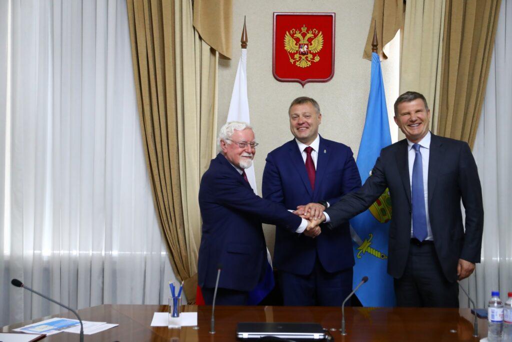 В портовой ОЭЗ в Астраханской области построят новый контейнерный порт
