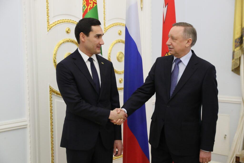 Участие делегации Туркменистана в Петербургском международном экономическом форуме