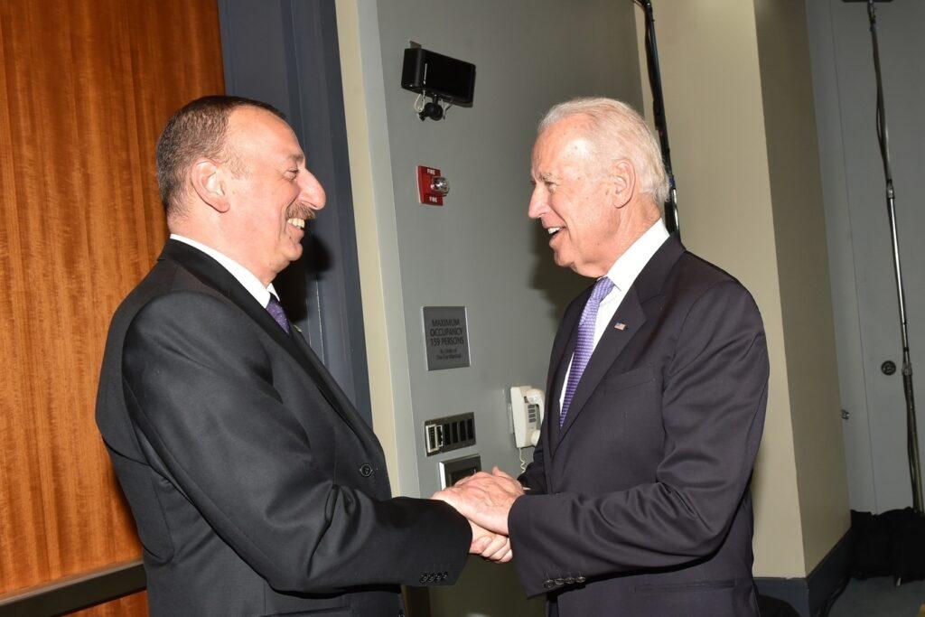 Поздравление Джозефа Р.Байдена руководству Азербайджанской Республики