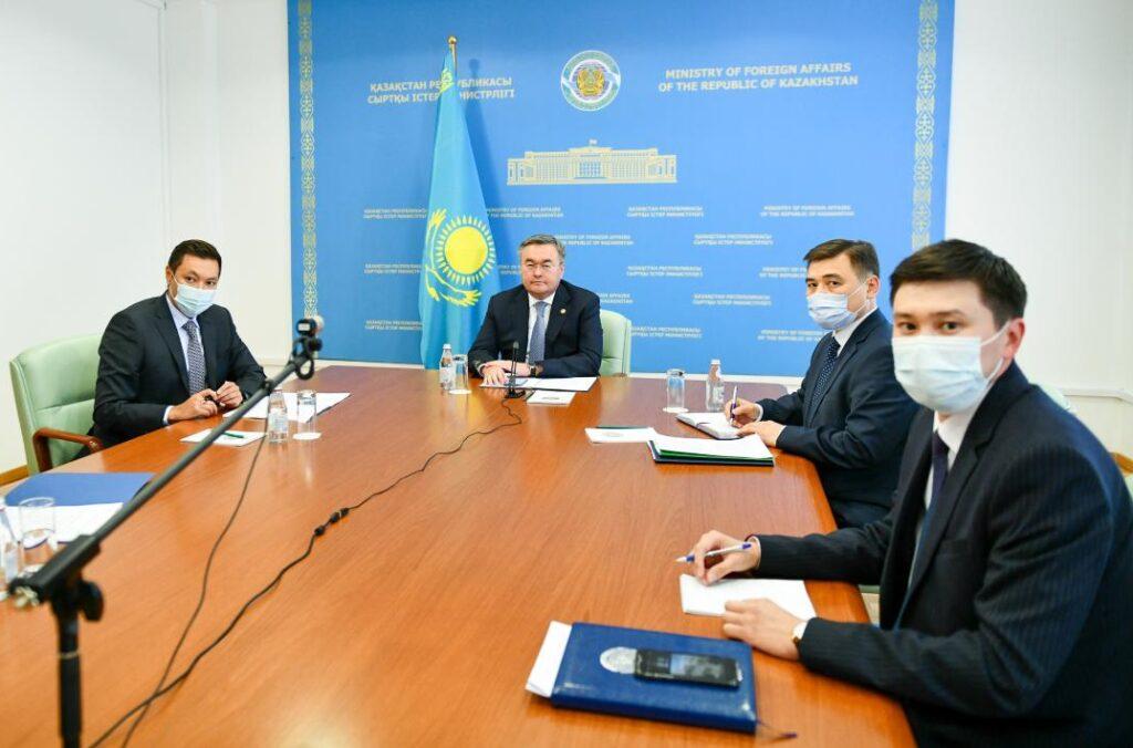 В Вашингтоне состоялся виртуальный Казахстанско-американский бизнес-форум
