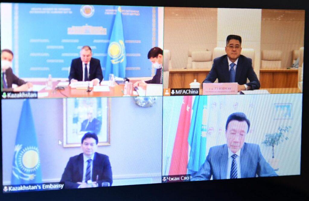 Казахстан и Китай обсудили сотрудничество по линии МИД и в области безопасности