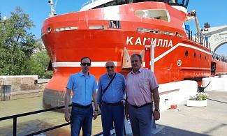 Президент Совместной Ирано-Российской торговой палаты посетил Волго-Донской канал