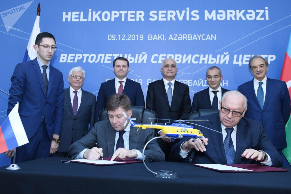 Азербайджано-российский вертолетный сервисный центр планируется открыть в конце года