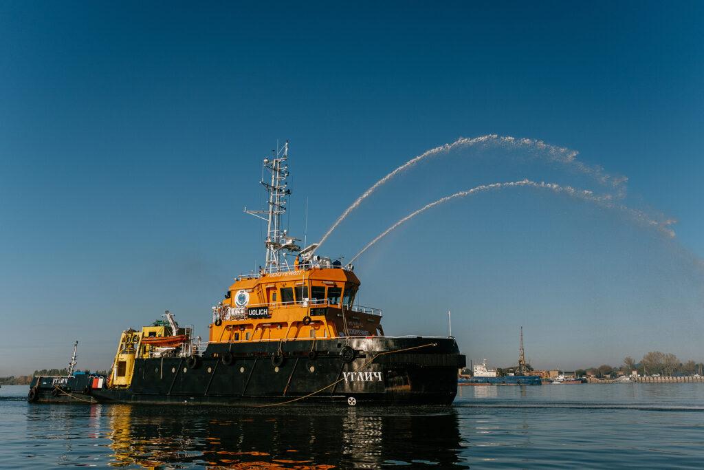 В Каспийском море завершились  учения по связи при поиске и спасании людей на море
