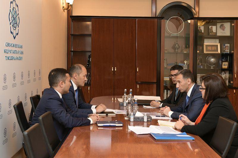 Представители секретариата ТРАСЕКА провели встречу с министром транспорта Азербайджана