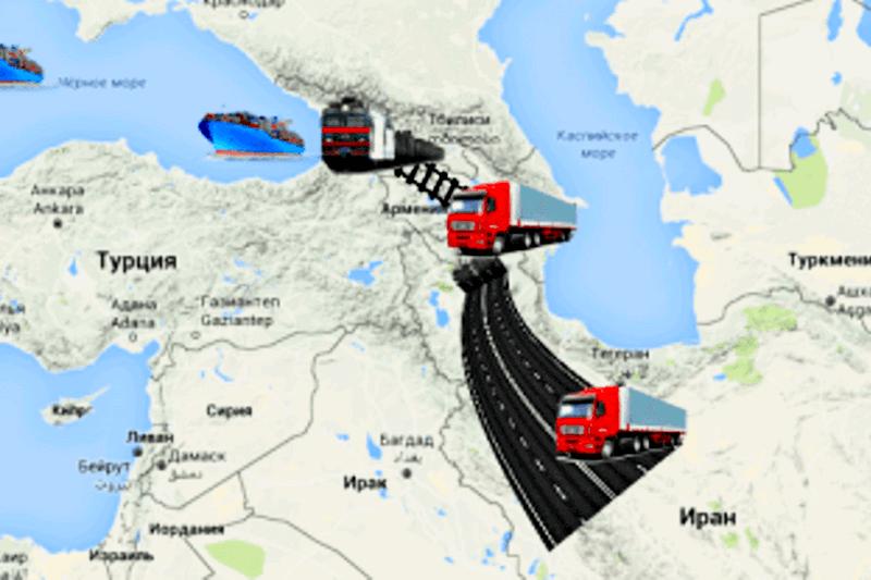 Иран стимулирует развитие транзитного коридора «Персидский залив – Черное море»