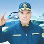 Президент Туркмении совершил полет на итальянском учебно-боевом самолете M-346FA