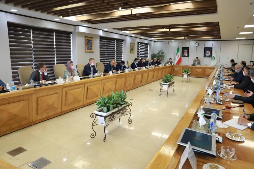 Губернатор Астраханской области совершил рабочий визит в Исламскую Республику Иран