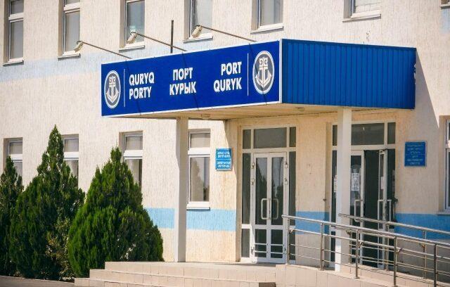 В казахстанском паромном комплексе порт Курык прошел пресс-тур с участием СМИ