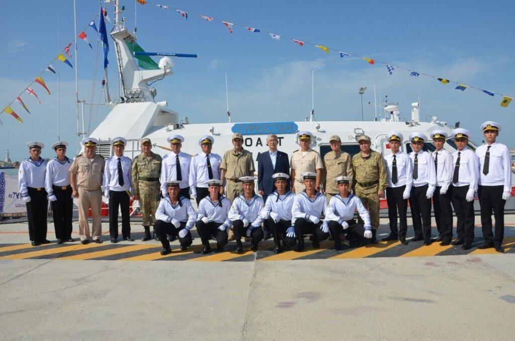 В Казахстане в состав сил береговой охраны введён новый пограничный корабль