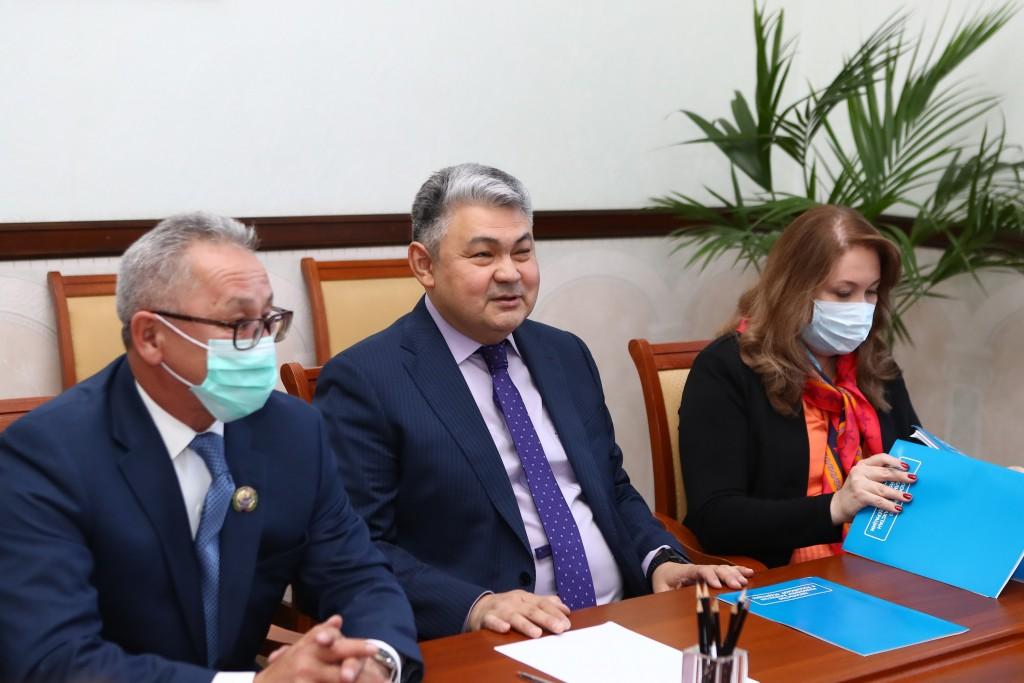 Астраханскую область посетил Посол Казахстана в России Ермек Кошербаев
