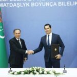 В рамках заседания Узбекско-Туркменской комиссии обсудили каспийскую тематику