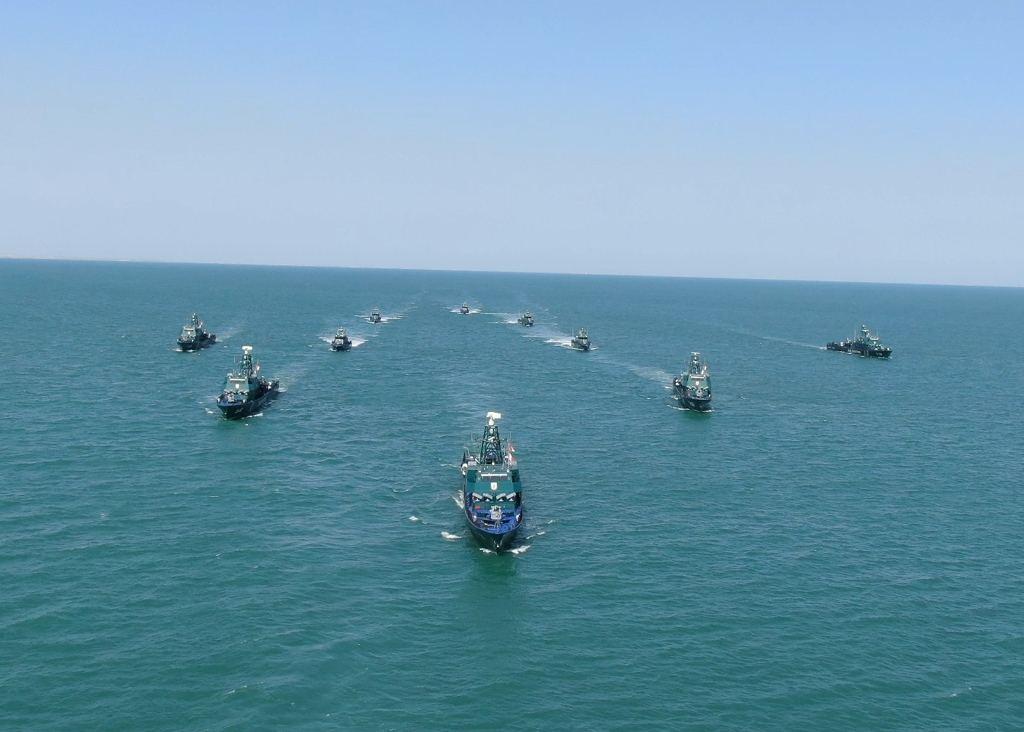 Государственная пограничная служба Азербайджана провела учения на Каспии