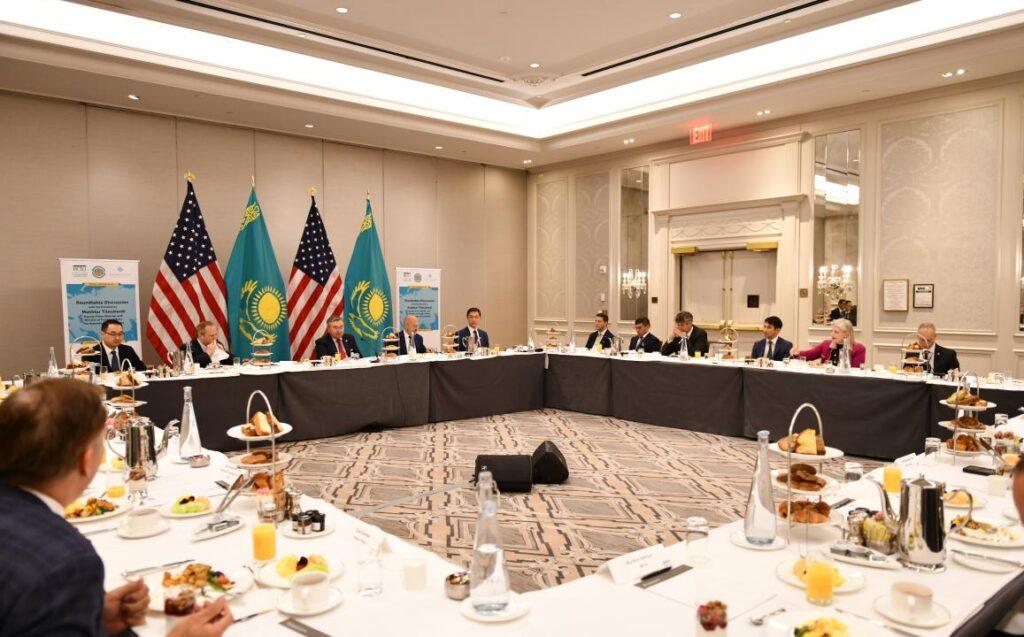 Бизнес Соединённых Штатов заинтересован инвестировать в Казахстан