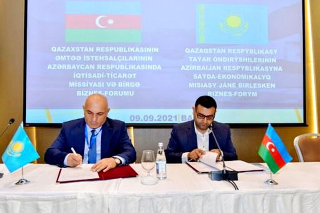 Бизнес-структуры Казахстана и Азербайджана заключили круные контракты