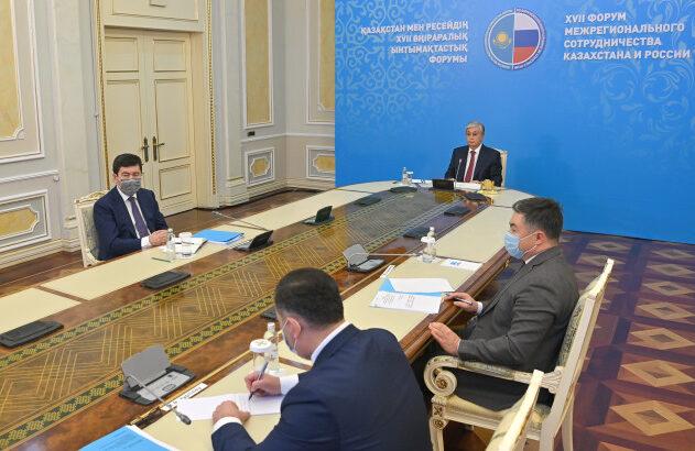 Глава Казахстана Касым-Жомарт Токаев о каспийских аспектах сотрудничества Казахстана и России