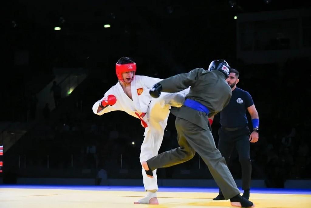 В Астрахани прошёл Кубок прикаспийских государств по рукопашному бою