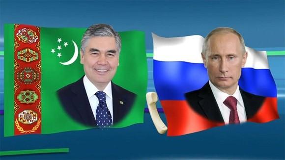 Телефонный разговор глав Туркменистана и России