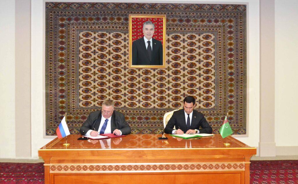 Россия и Туркменистан провели заседание комиссии по экономическому сотрудничеству