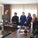 Иранская съёмочная группа снимает документальный фильм об Астрахани