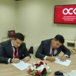 Казмортрансфлот и российская ОСК подписали соглашение о сотрудничестве