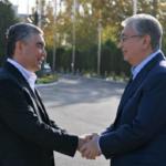 Президент Казахстана прибыл с государственным визитом в Ашхабад